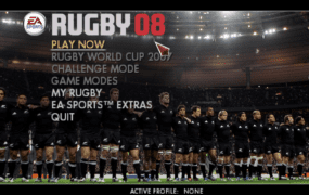 How to play EA Sports Rugby 08 on Mac